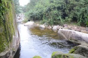 Poço da Usina. Cachoeiras na Paraty-Cunha
